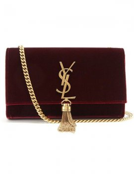 Sac Kate Velours YSL face | Location Se Casan